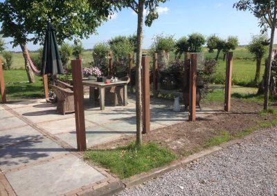 moderne tuin landelijk